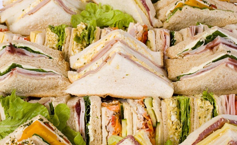 Zing Café Catering Sandwich Platter | CC Holdings